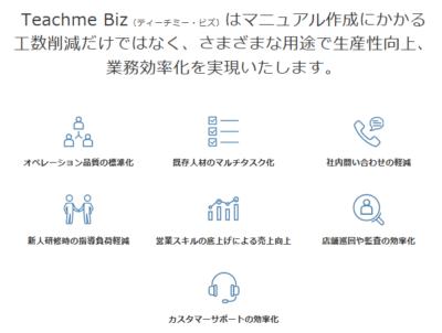 TEACHME BIZ+タスクデザイナー